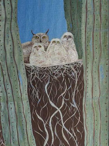 Saguaro Owls